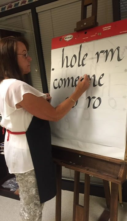 Calligraphy Classes